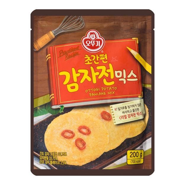 商品详情 - 韩国OTTOGI不倒翁 马铃薯味混合煎饼粉 200g - image  0