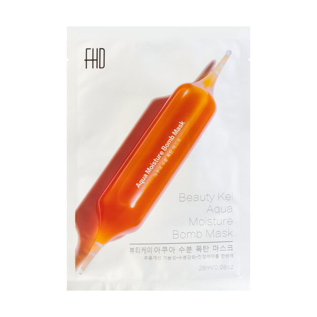 Product Detail - FHD Beauty Kei Aqua Moisture Bomb Mask 1pc - image 0