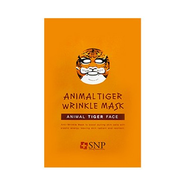 SNP Animal Tiger Wrinkle Mask 1sheet