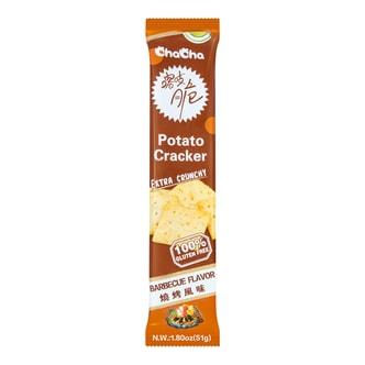 CHA CHA  Potato Cracker  Barbecue Flavor  51g