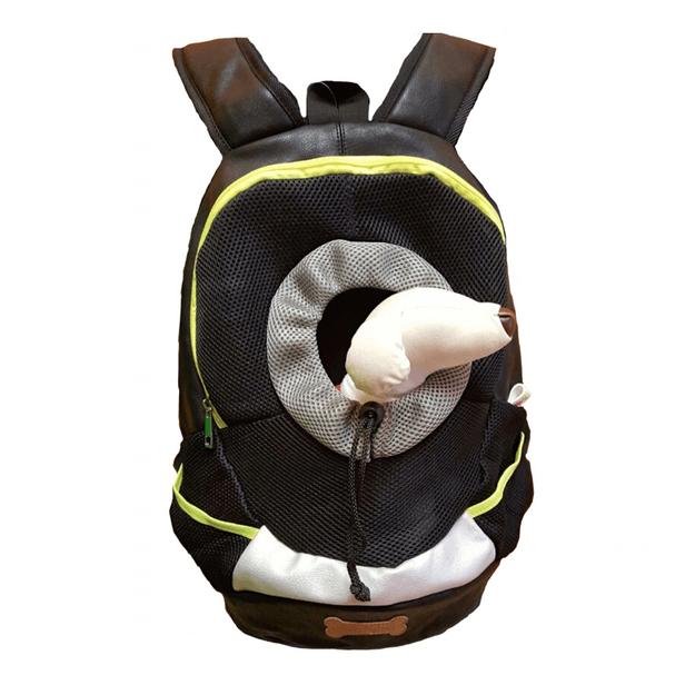 商品详情 - ALPHA DOG SERIES 宠物便携背包 #黑色 - image  0