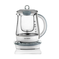 BUYDEEM Multi Function Glass Electric Water Kettle Healthy Tea Kettle 1.5L K2683