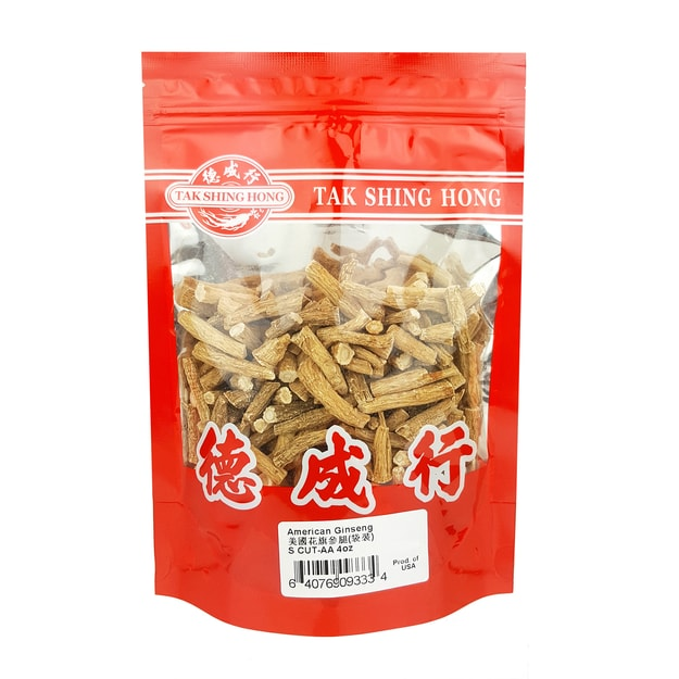 Product Detail - Tak Shing Hong American Ginseng S CUT-AA 4oz - image 0