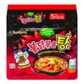 SAMYANG Korean Hot Chicken Ramen Stew Type  145g*5