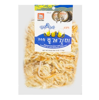 HAITAI Smoked Seasoned Shredded Squid 170g