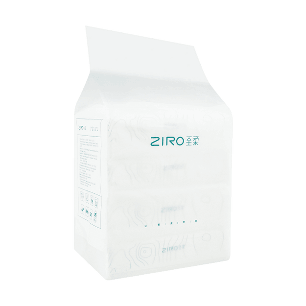 Product Detail - Fnian ZIRO Moisture Soft Tissue 138*190mm*3-plu*100 sheets *4 packs With Moisturizing Cream Ingredients - image 0