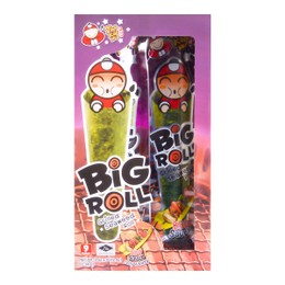 TAO KAE NOI Big Roll Grilled Seaweed Roll BBQ Flavor 9pc