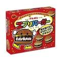 日本波本 夹心汉堡巧克力饼干 66g