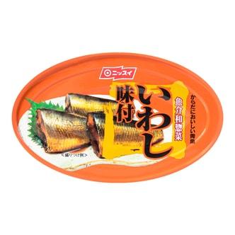 日本NISSUI 味付盐味水煮沙丁鱼罐头 100g
