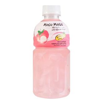 MOGU MOGU Lychee Flavored Drink With Nata De COCO 320ml