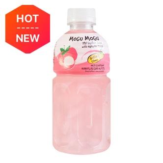 泰国MOGU MOGU 果汁椰果饮料 荔枝味 320ml