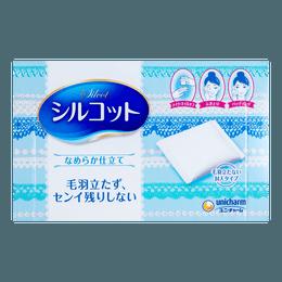 日本UNICHARM尤妮佳 丝滑多功能化妆棉 82枚入