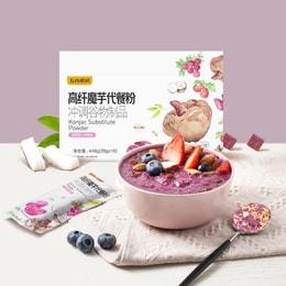 五谷磨房 魔芋代餐粥 紫薯味 448g (16条) 全新包装 低卡饱腹 营养早餐 即冲减肥轻食