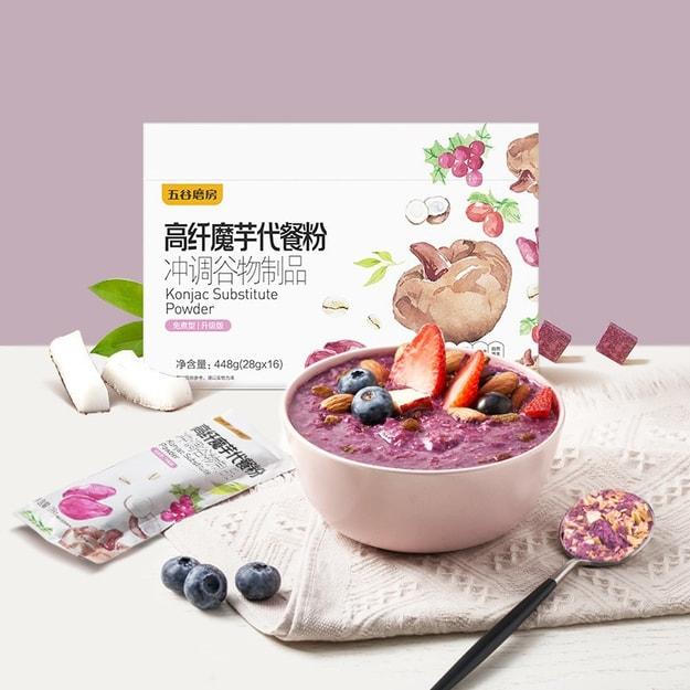 Product Detail - WUGU MOFANG KONJAC NUTRITIONAL MEAL PURPLE YAM FLAVOR 448g - image 0