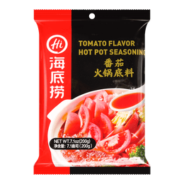 HAIDILAO Tomato Flavor Hot Pot Seasoning 200g