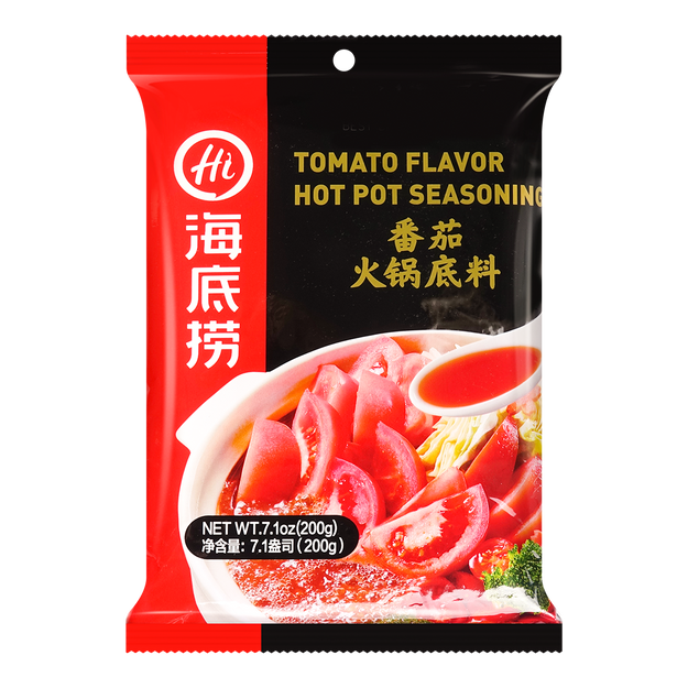 Product Detail - HAIDILAO Tomato Flavor Hot Pot Seasoning 200g - image 0