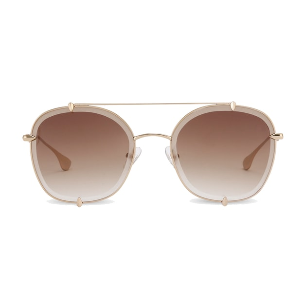 Product Detail - DUALENS Fashion UV Sunglasses: Magnolia - Brown (DL85012 C4) - image 0