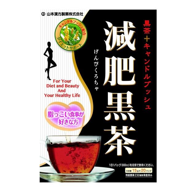 商品详情 - 日本山本汉方制药 减肥黑茶 15gx 20袋入 - image  0