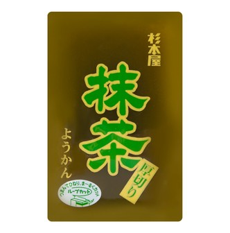 JIKAKU Red Bean Jelly -Matcha Flavor 150g
