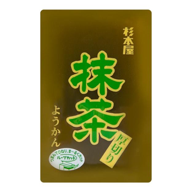 商品详情 - 日本杉本屋 厚切羊羹 抹茶味 150g - image  0