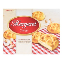 LOTTE MARGARET COOKIES Soft Cookies with Nuts 396g