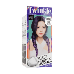 MISE EN SCENE Hello bubble Hair Foam Color Blue