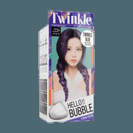 韩国MISE EN SCENE爱茉莉 HELLO BUBBLE泡沫染发剂  9B闪耀蓝 单组入