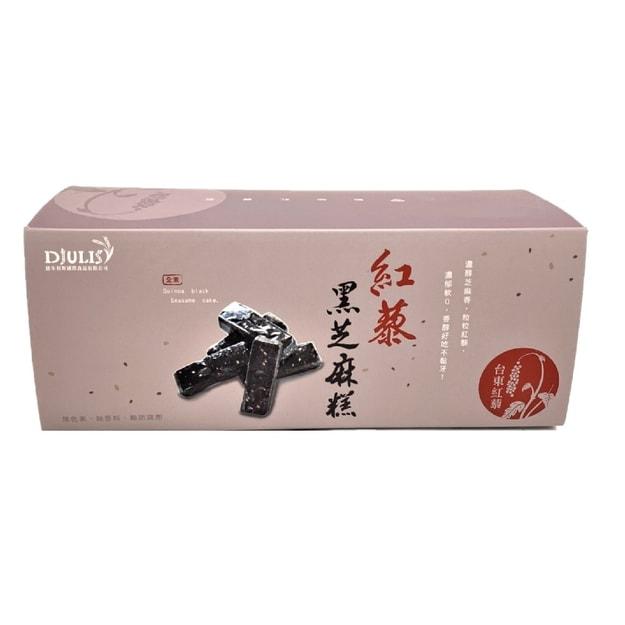商品详情 - [台湾直邮] 德朱利斯 红藜黑芝麻糕 252g - image  0