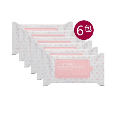 JILGYUNGYI Feminine Tissue Light 10pcs*6