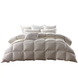 MARCIELO Four seasons warm and soft and comfortable fluffy breathable goose feathers Twin