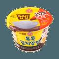 韩国OTTOGI不倒翁 韩式鱼子酱泡菜石锅拌饭 桶装 222g