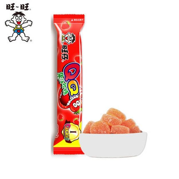 商品详情 - [中国直邮] WANGWANG旺旺旺仔QQ果汁软糖38g草莓味 - image  0