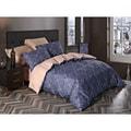 水星家纺 100% 全棉床品 铜音 Full码 床单四件套  (枕套x2 被套x1 床笠x1)