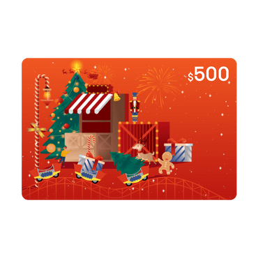 【5% OFF】E-giftcard $500