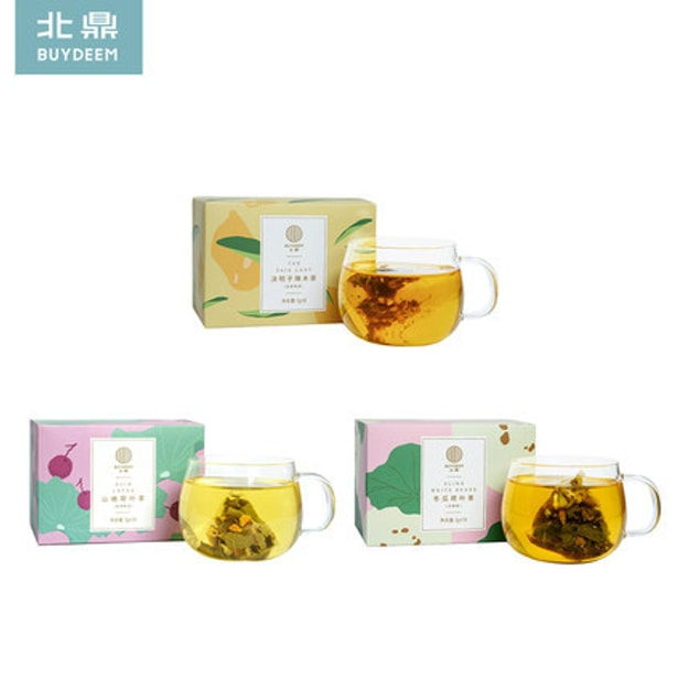 Product Detail - BUYDEEM slimming tea bag set 3 boxes - image 0
