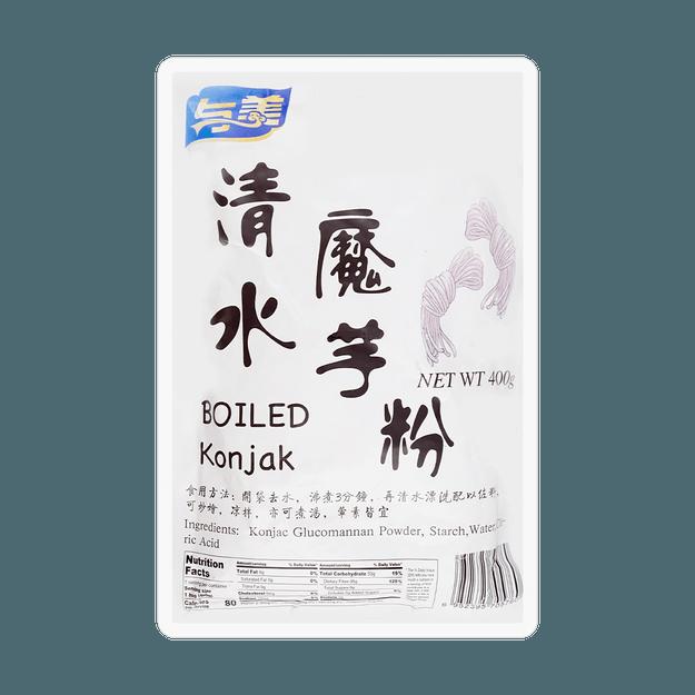 Product Detail - YUMEI Boiled Konjac Noodle 400g - image 0