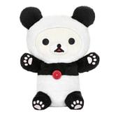 日本RILAKKUMA轻松熊 KORILAKKUMA白熊 可爱小熊猫装扮公仔 13.5寸