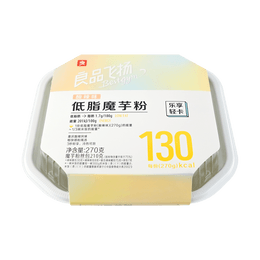 BESTORE Low-Fat Konjac Flour (Sour and Spicy)  270g