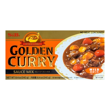 S&B Curry Golden Mild 220g