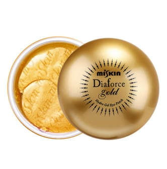 DIAFORCE Gold Hydro-Gel Eye Patch 60 Pieces