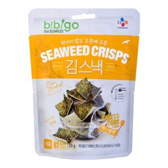 CJ BIBIGO Seaweed Crisps Honey & Corn 20g