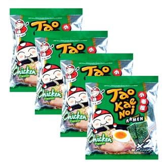 泰国小老板 即食方便面 鸡肉味 4包入 360g