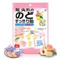 【日本直邮】RYUKAKUSAN龙角散 夹心润喉糖 蜜桃口味 80g 粉色