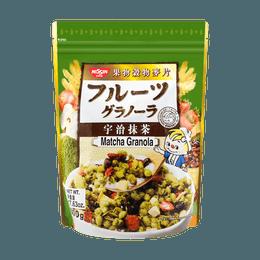 Japanese Style Fruit Granola Matcha 500g