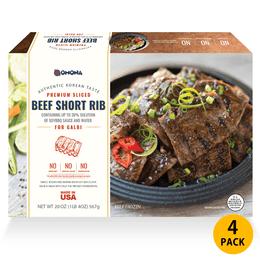 OMONA 韩式烤牛肋排 4包特别套餐