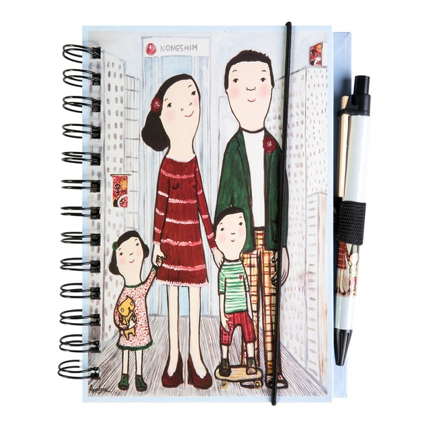 Product Detail - NONGSHIM Notebook 1pc - image 0