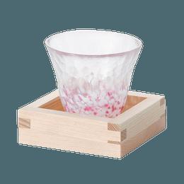 ISHIZUKA GLASS 石塚硝子||津轻玻璃樱花清酒杯F-79444||1个