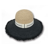 ACCESS HEADWEAR Wide Brim 100% Raffia Summer Bowler Hat women #Beige One Size
