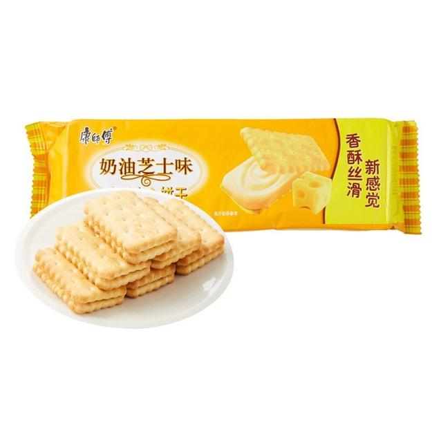 商品详情 - [加拿大直邮] 康师傅咸酥夹心饼干 奶油芝士 80g - image  0
