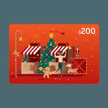 E-giftcard $200